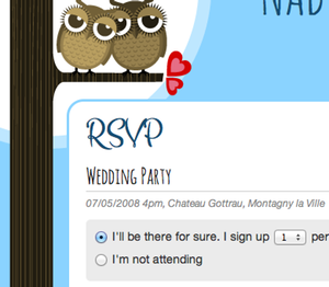 WeddingDonkey - Create your own personal wedding website with online RSVP